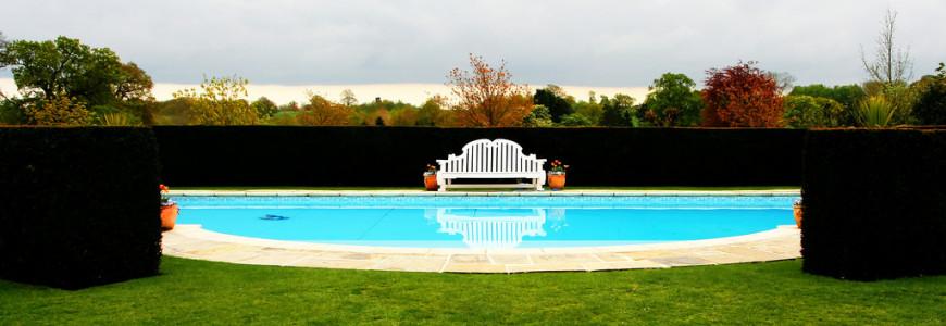 Qualche buona idea per una piscina esterna in giardino for Pesci finti per piscina