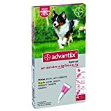 Advantix ® Spot On per cani oltre 10 Kg fino a 25 Kg - 4 pipette da 2.5 ml - ...
