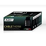 Aqpet Cavetto Riscaldante CableTherm - 80 watt Lunghezza Cavo 750cm 230V made in italy