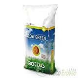 Concime Fertilizzante per Prato Bottos Slow Green 18-6-12 + 2 MgO - 25 Kg