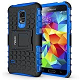 Custodia Galaxy S5 mini,Pegoo Cover Galaxy S5 mini Ultra Slim armatura antiurto Copertura Cassa Custodia Silicone cover Case supporto stabile ...