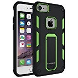 Custodia iPhone 7,Pegoo Cover iPhone 6 Ultra Slim armatura antiurto Copertura Cassa Custodia Silicone cover Case supporto stabile Protettiva Shell ...