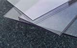 Lastre in policarbonato UV 500 x 400 x 4 mm trasparente piastra incolore