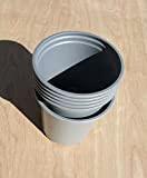 Nutley's - Modiform, Vasi per la coltivazione di piante, in plastica resistente, Ø 9 cm, 100 pz.