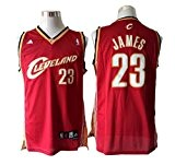 Ponticelli 23 Lebron James Red Throwback Jersey Size-M by urbano