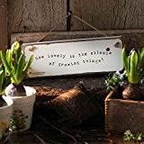 Royal Horticultural Society Garden Sign 'How lovely è il suono di crescere Thing'