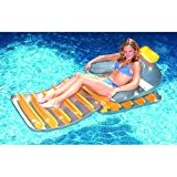 "Swimline 9040SL 74"" Folding Reflective Sun Pool Lounger"