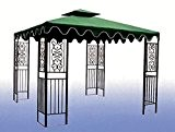 TELO TOP COPERTURA RICAMBIO MT 3X3 PER GAZEBO ANTIVENTO AIR VENT VERDE