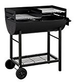 "Tepro 1037 ""Detroit"" Barbecue a carbonella con trolley"